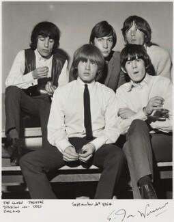 The Rolling Stones (Bill Wyman; Brian Jones; Charlie Watts; Keith Richards; Mick Jagger), by Ian Wright - NPG x132219