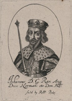 King John, probably by or after William Faithorne - NPG D33929