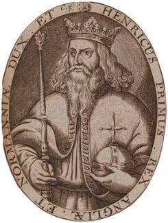King Henry I, by Renold or Reginold Elstrack (Elstracke) - NPG D33874