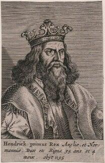 King Henry I, after Unknown artist - NPG D33876