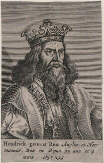 King Henry I, after Unknown artist, 1649 - NPG D33876 - © National Portrait Gallery, London