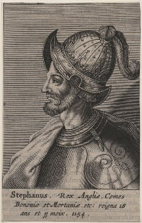 Fictitious portrait called King Stephen, after Unknown artist - NPG D33877