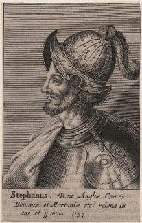 Fictitious portrait called King Stephen, after Unknown artist, published 1649 - NPG D33877 - © National Portrait Gallery, London