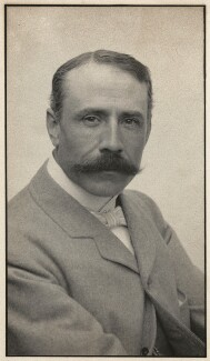 Sir Edward Elgar, Bt, by Edgar Thomas Holding, circa 1905 - NPG x11905 - © National Portrait Gallery, London