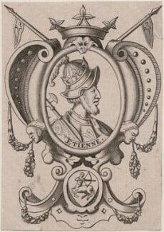 Fictitious portrait called King Stephen, after Renold or Reginold Elstrack (Elstracke), (1618) - NPG D33879 - © National Portrait Gallery, London