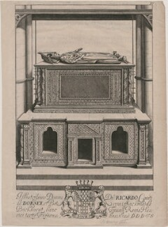 King Henry III's tomb in Westminster Abbey, after Unknown artist, published 1677 - NPG D33886 - © National Portrait Gallery, London