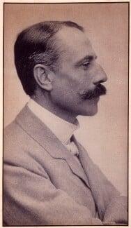 Sir Edward Elgar, Bt, by Edgar Thomas Holding, circa 1905 - NPG x11906 - © National Portrait Gallery, London