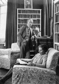 George Douglas Howard Cole; Dame Margaret Isabel Cole, by Howard Coster, 1938 - NPG x10859 - © National Portrait Gallery, London