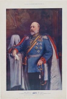 King Edward VII, published by The Graphic, after  Emil Fuchs - NPG D33847