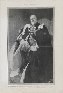 King Edward VII, published by The Graphic, after  Philip Tennyson Cole - NPG D33848