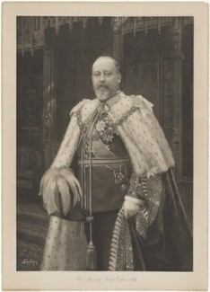 King Edward VII, published by Raphael Tuck & Sons, after  Isaac Snowman - NPG D33851
