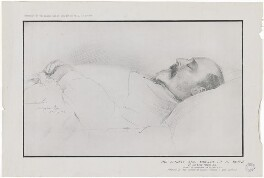 King Edward VII, published by The Graphic, after  Luke Fildes - NPG D33852