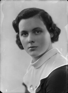 Lady Hersey Margaret Goring (née Boyle, later Waldegrave), by Bassano Ltd - NPG x153935