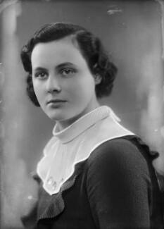 Lady Hersey Margaret Goring (née Boyle, later Waldegrave), by Bassano Ltd - NPG x153936