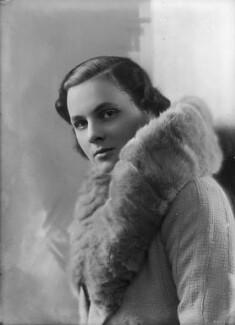 Lady Hersey Margaret Goring (née Boyle, later Waldegrave), by Bassano Ltd - NPG x153937
