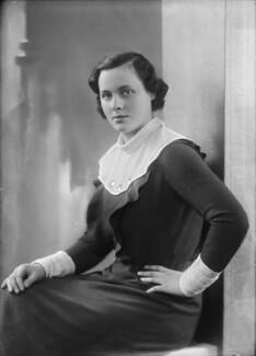 Lady Hersey Margaret Goring (née Boyle, later Waldegrave), by Bassano Ltd - NPG x153938