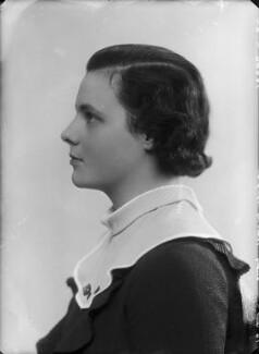 Lady Hersey Margaret Goring (née Boyle, later Waldegrave), by Bassano Ltd - NPG x153939