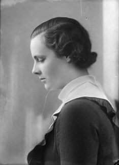 Lady Hersey Margaret Goring (née Boyle, later Waldegrave), by Bassano Ltd - NPG x153940