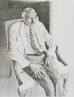 Martin John Rees, Baron Rees of Ludlow, by Benjamin Sullivan - NPG 6859