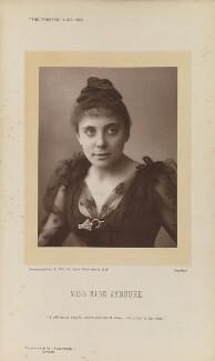 Aida Jenoure (Mrs Howard Cochran), by Alfred Ellis, published by  Eglington & Co - NPG Ax28836