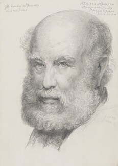 Sir George Scharf, by Sir George Scharf - NPG 4053(1)