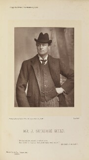 (James) Nutcombe Gould, by Alfred Ellis, published by  Eglington & Co - NPG Ax28845