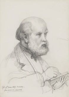 Sir George Scharf, by Sir George Scharf - NPG 4053(3)