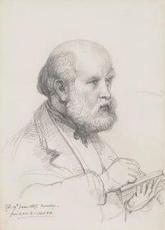 Sir George Scharf, by Sir George Scharf, 1887 - NPG 4053(3) - © National Portrait Gallery, London
