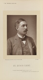 Arthur Elwood, by Alfred Ellis, published by  Eglington & Co - NPG Ax28857