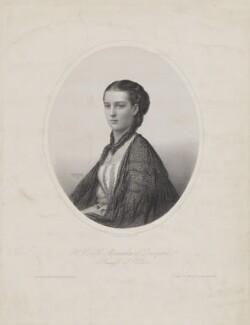 Queen Alexandra, by Émile Desmaisons, after  George E. Hausen - NPG D33945
