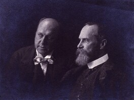 Henry James; William James, by Marie Leon - NPG x18720