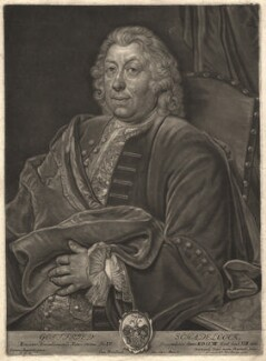 Gottfried Schadeloock, by Bernard Vogel, after  Jan Kupecký (Kupetzki) - NPG D9335