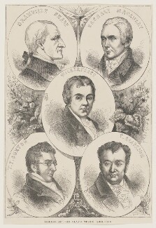 Heroes of the Slave Trade Abolition, by Unknown artist, mid-late 19th century - NPG D9338 - © National Portrait Gallery, London