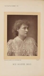 Winifred Emery, by Alfred Ellis - NPG Ax28868