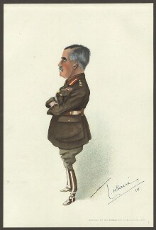Sir William Robert Robertson, 1st Bt, by Lester Howard Sacré, published 1918 - NPG D33958 - © estate of Lester Howard Sacré / National Portrait Gallery, London