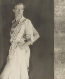 Cecil Beaton, by Curtis Moffat, and  Olivia Wyndham - NPG x20034