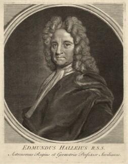 Edmond Halley, after Richard Phillips, (circa 1721) - NPG D33975 - © National Portrait Gallery, London