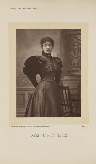 Marion Terry, by Alfred Ellis - NPG Ax28876