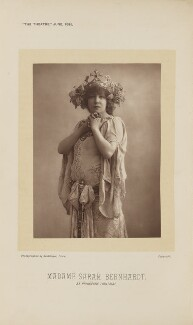Sarah Bernhardt as Mélisande in 'La Princesse Lointaine', by Reutlinger - NPG Ax28880