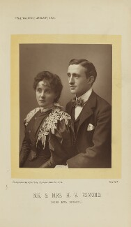 Eva Moore; Henry Vernon Esmond (Harry Esmond Jack), by Alfred Ellis - NPG Ax28883