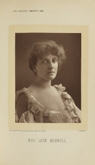 Lena Ashwell (née Lena Margaret Pocock, later Lady Simson), by Alfred Ellis, published 1 February 1896 - NPG Ax28885 - © National Portrait Gallery, London