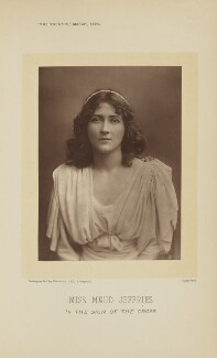 Maud Jeffries as Mercia in 'The Sign of the Cross', by Barrauds Ltd, published 1 March 1896 - NPG Ax28887 - © National Portrait Gallery, London