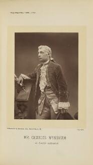 Sir Charles Wyndham (Charles Culverwell) as David Garrick in 'David Garrick', by Barrauds Ltd - NPG Ax28888