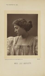 Lily Hanbury, by Alfred Ellis - NPG Ax28890
