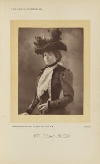 Cora Urquhart Brown Potter, by Alfred Ellis, published by  Simpkin, Marshall, Hamilton, Kent & Co - NPG Ax28904