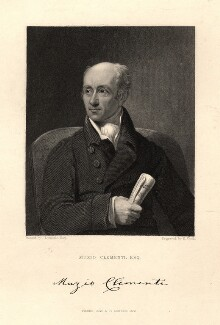 Muzio Clementi, by Henry Richard Cook, after  James Lonsdale - NPG D9341