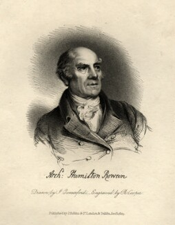 Archibald Hamilton Rowan, by Robert Cooper, after  John Comerford, published 1825 - NPG D9343 - © National Portrait Gallery, London