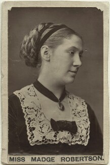 Madge Kendal, by Unknown photographer, circa 1879 - NPG x19102 - © National Portrait Gallery, London
