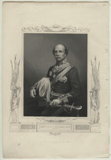 Sir William Fenwick Williams, 1st Bt, by Daniel John Pound, after  John Watkins, 1856 or after - NPG D32130 - © National Portrait Gallery, London