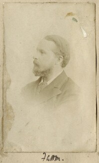 Frederic William Henry Myers, by Unknown photographer - NPG Ax68350